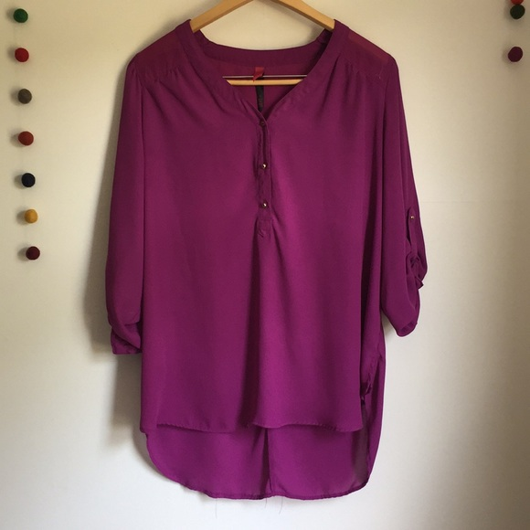 Pure Energy Tops - Pure energy oversized blouse